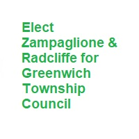 Gibbstown Township Council Candidates Zampaglione & Radcliffe for Greenwich Township Council